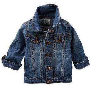 OshKosh Baby B'Gosh Blue Denim Jean Jacket 24 mo.